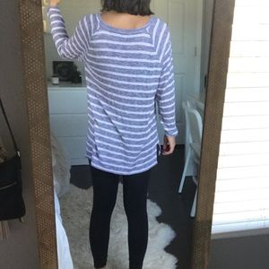 aerie Sweaters - Aerie Light-weight Striped Sweater